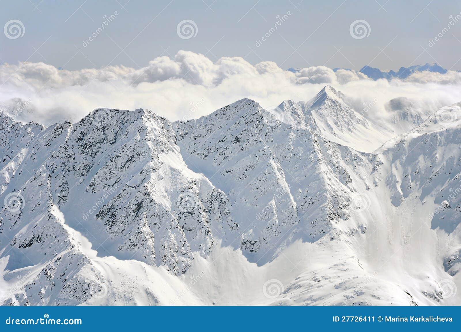 Winter-Alpen