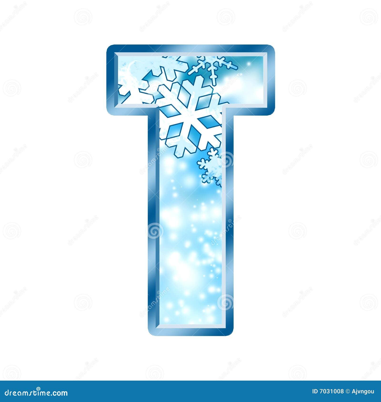 Winter Alphabet letter Q stock illustration Illustration of