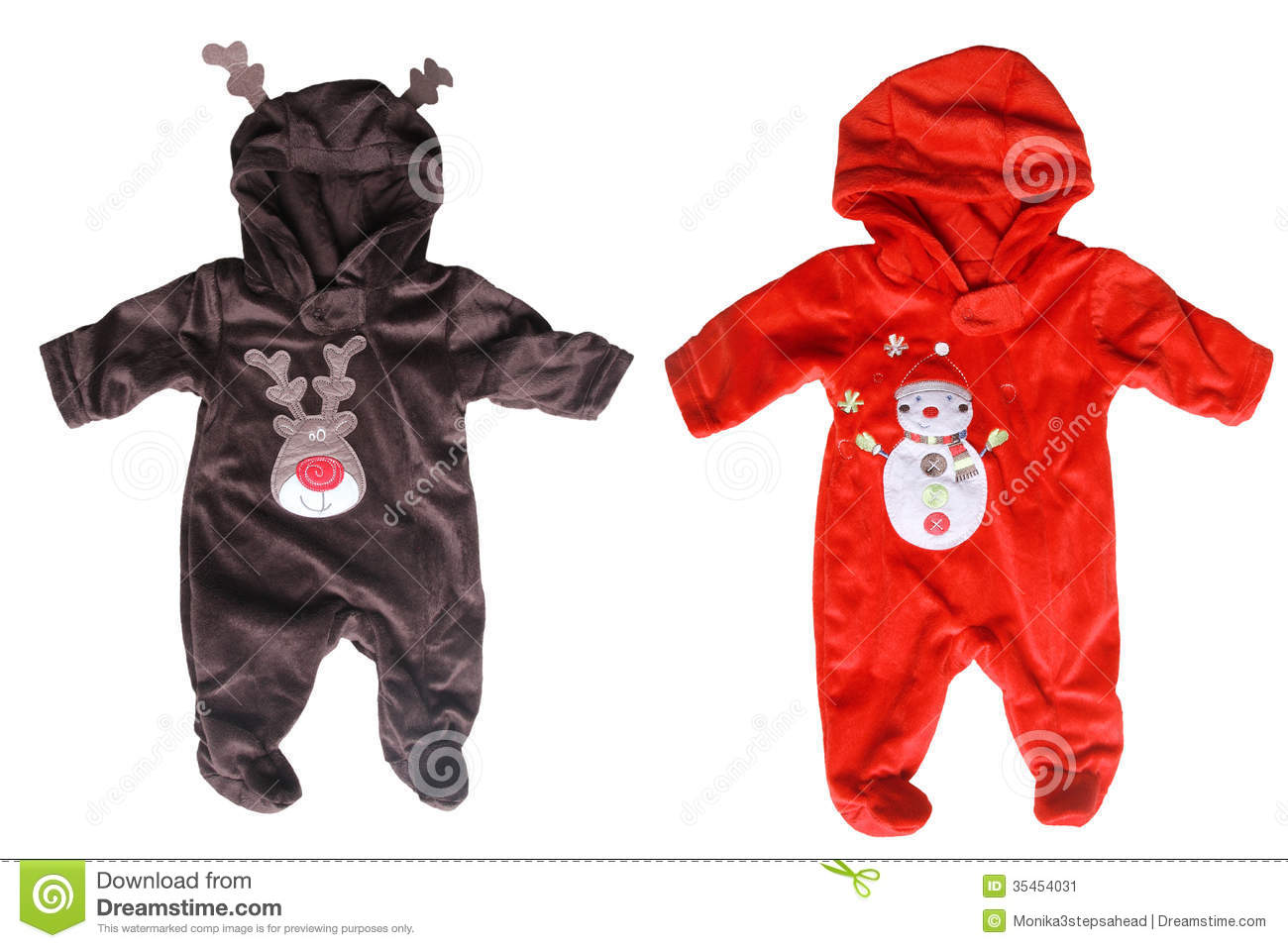 af2562a04 Winter Babies Overalls For Christmas Stock Image - Image of baby ...