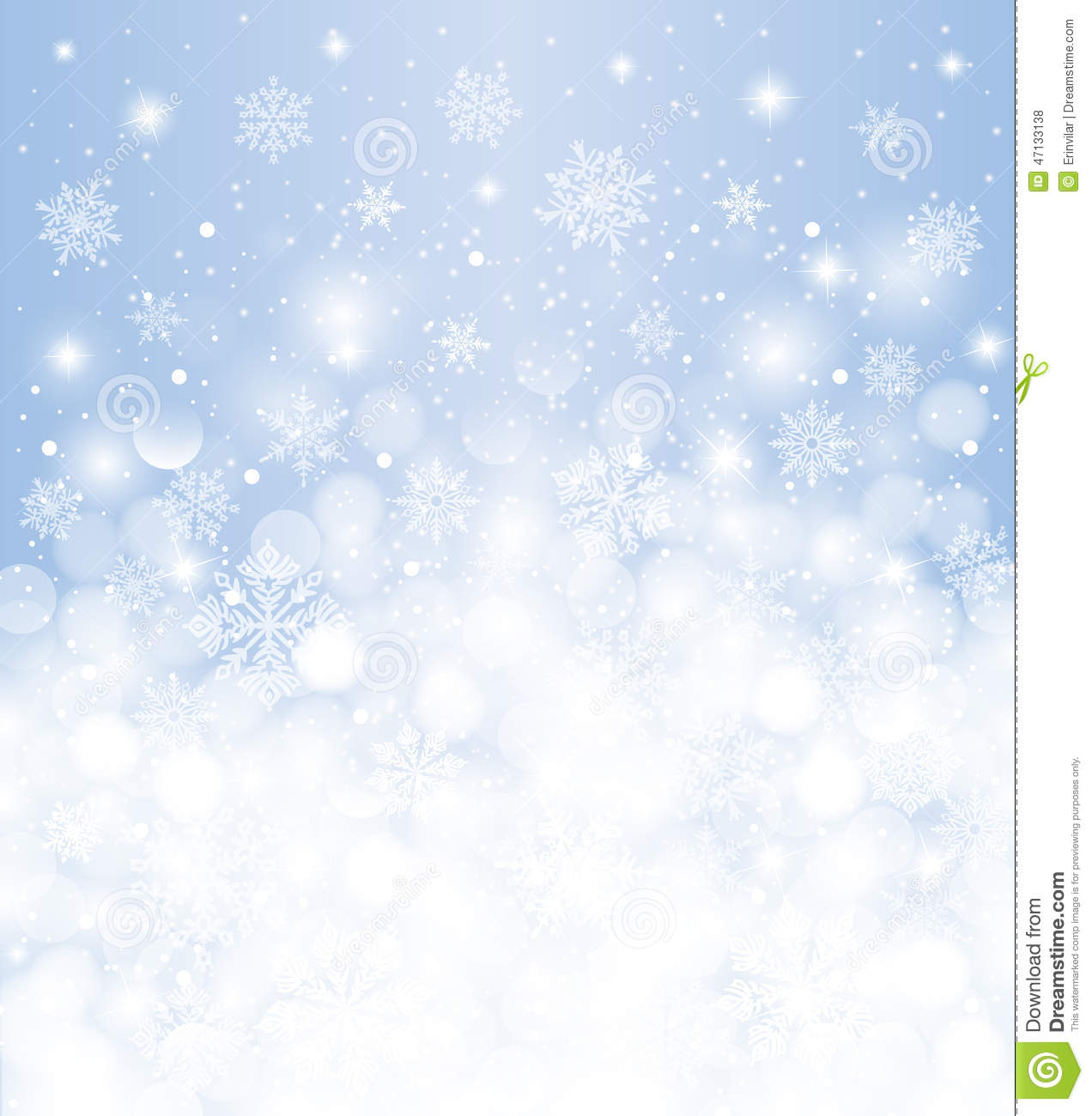 With white christmas background and snow vector vector background - Winter Background Blurred White Amp Blue With Snowfall And