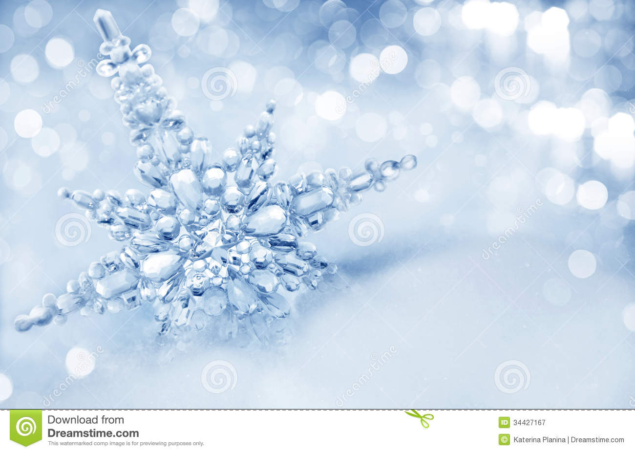 real snowflakes background - photo #22