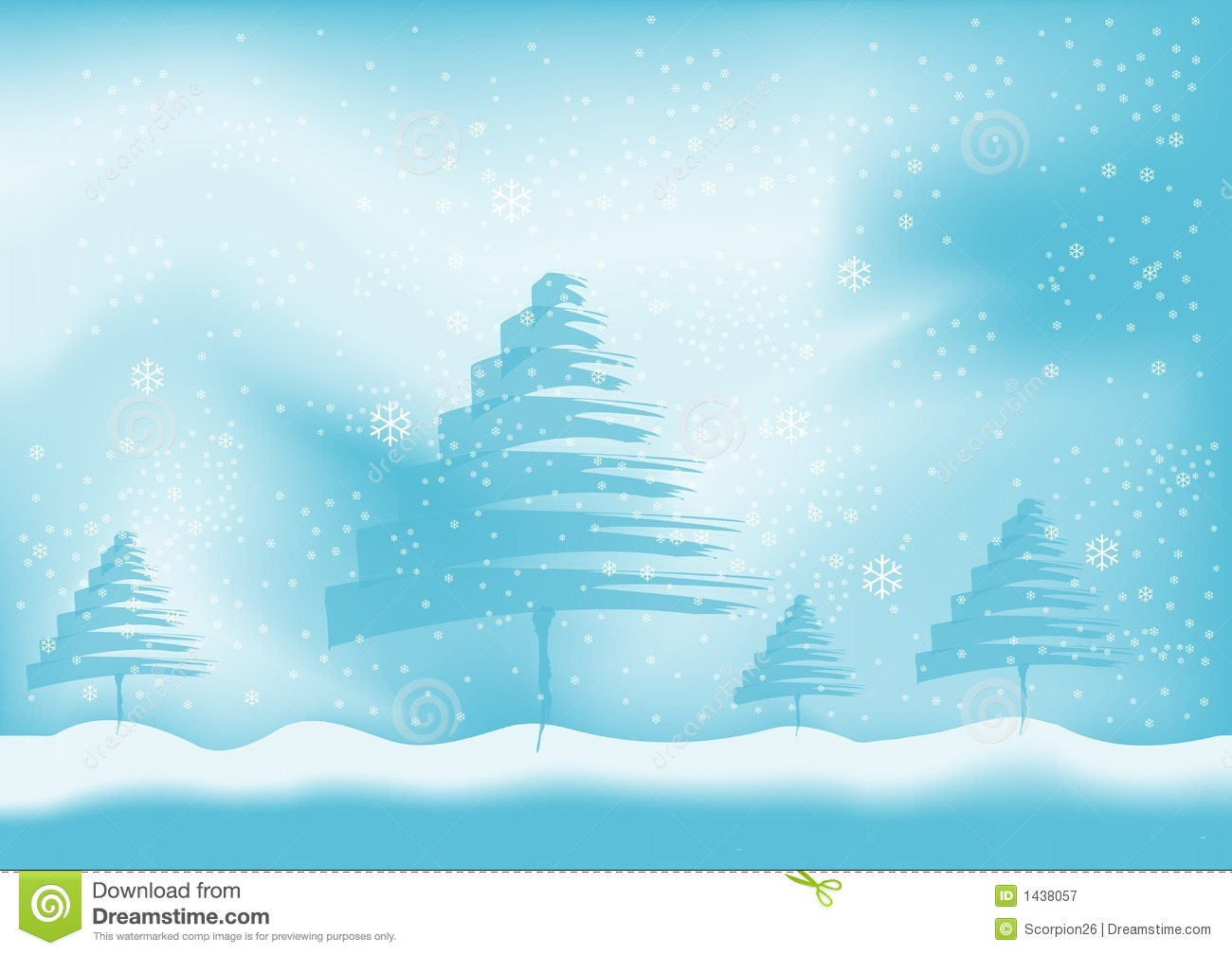 Winter background vector stock vector. Illustration of ...