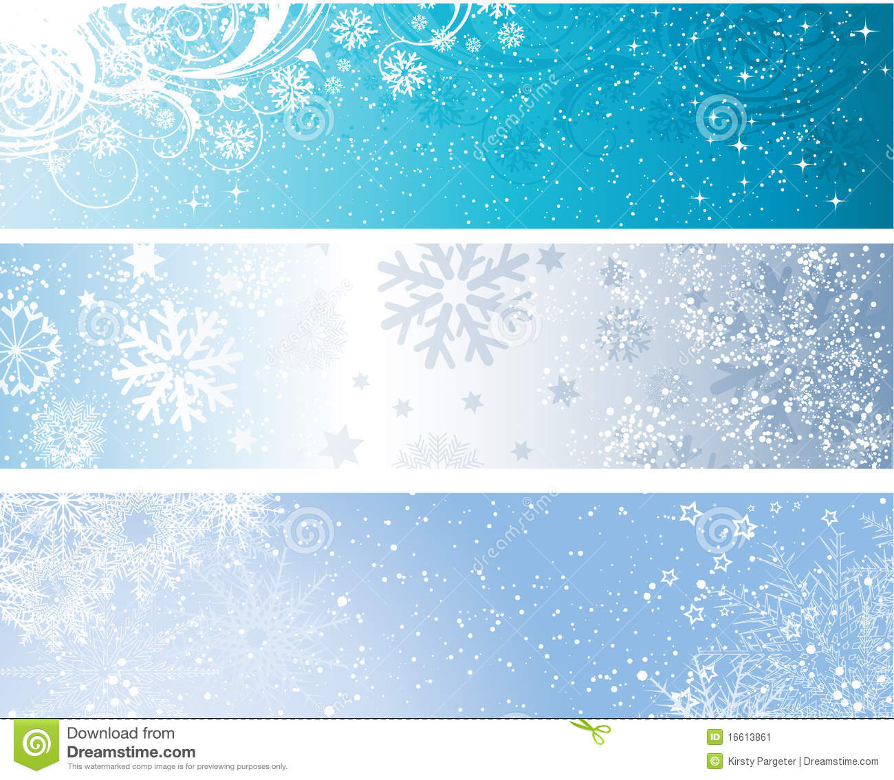 Winter banners stock vector. Illustration of star, grunge ...