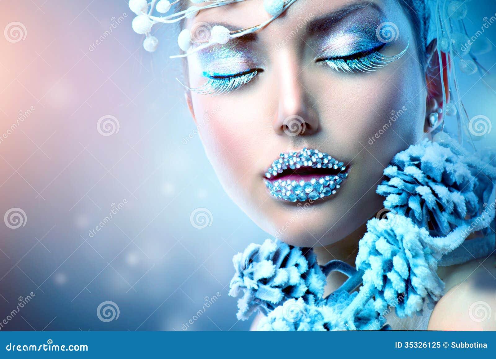 Winter Beauty Woman