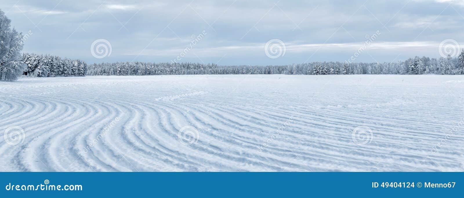 Download Winter bei Lappland stockfoto. Bild von land, sonnig - 49404124