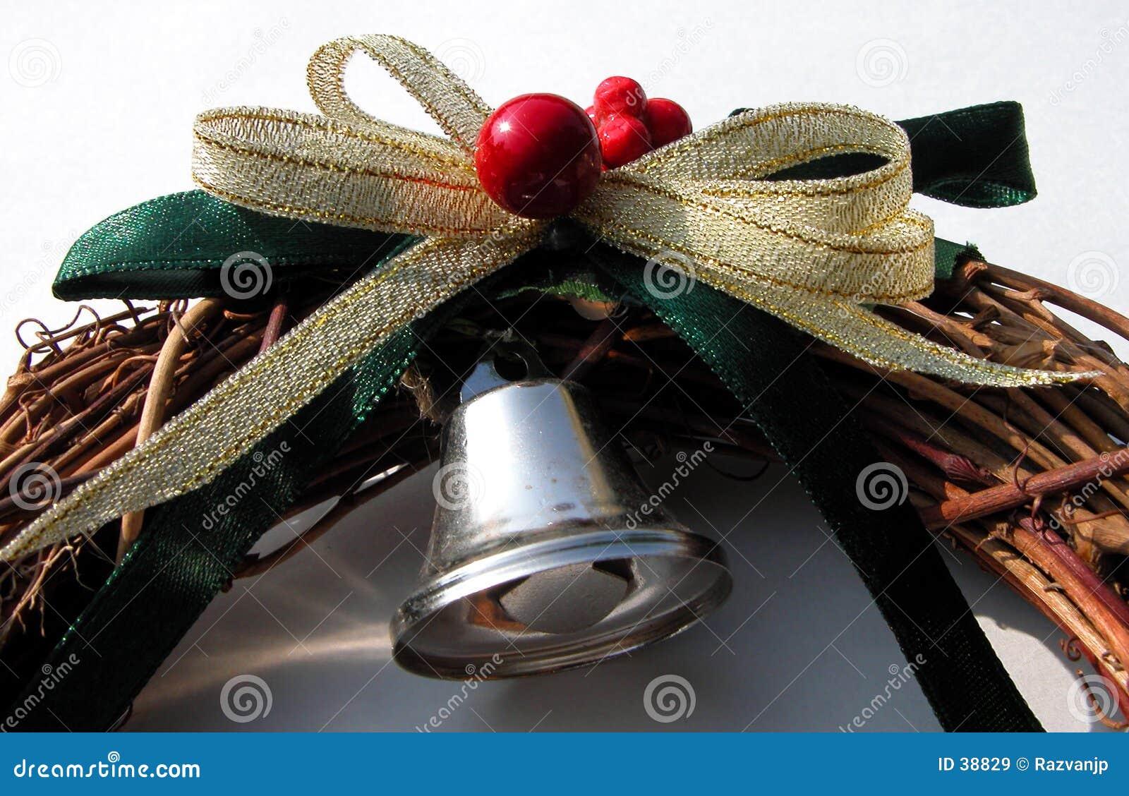Winter bell decoration