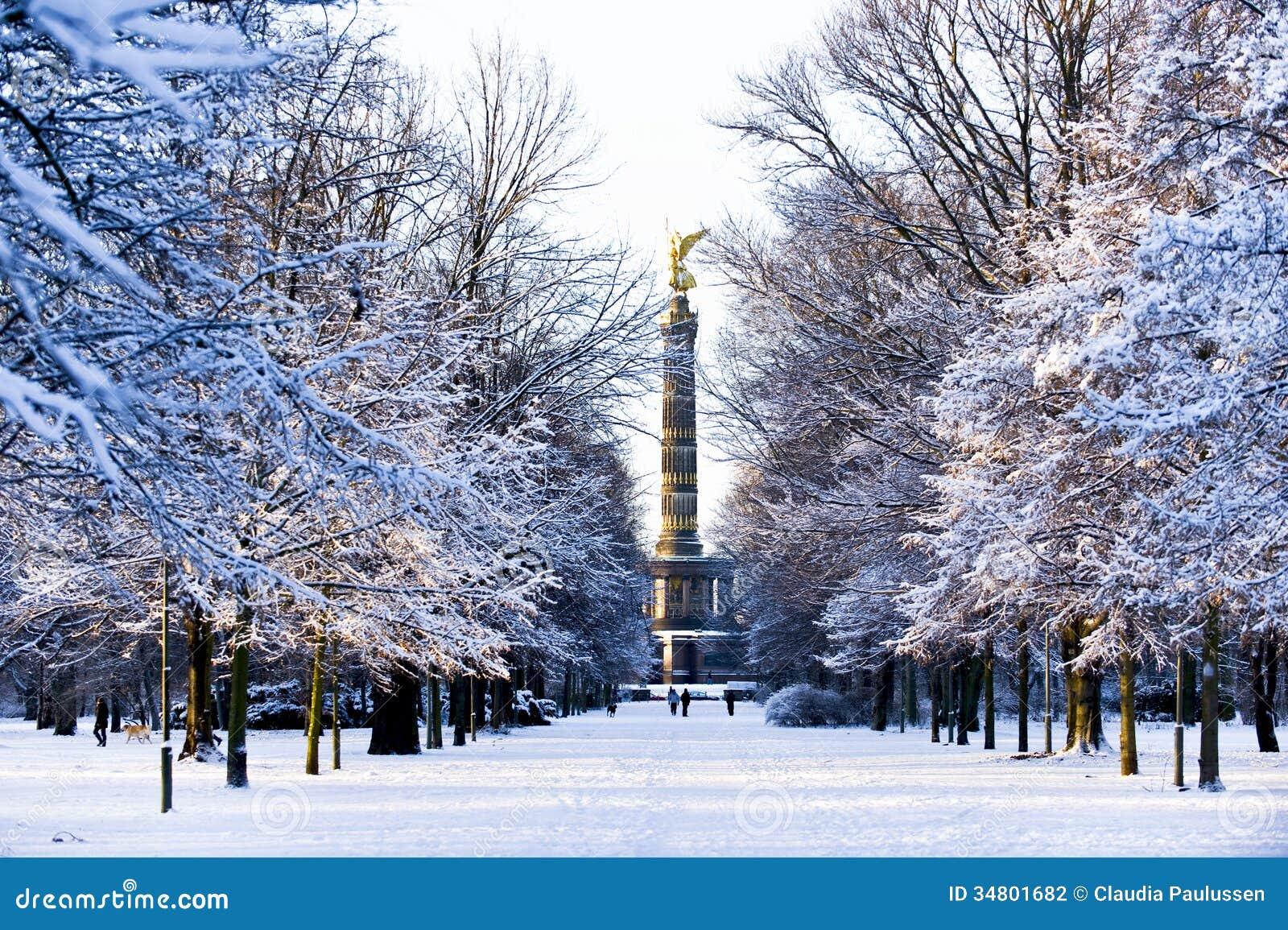 winter in berlin stock photo image of nature golden