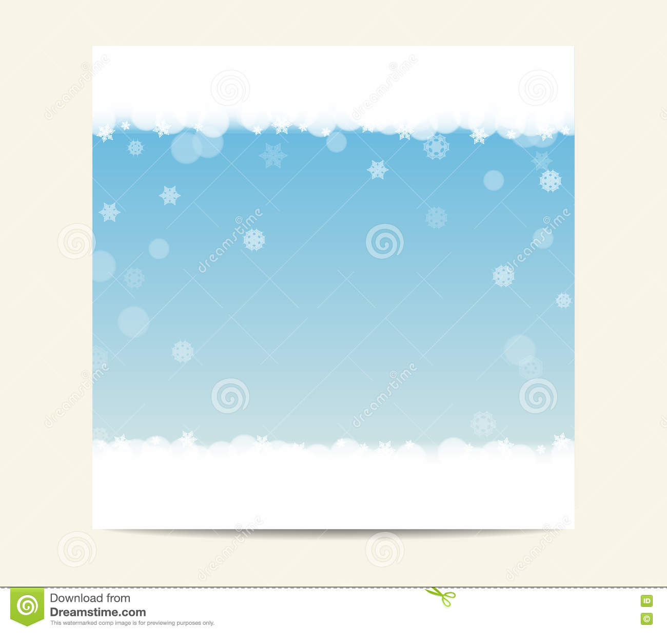flyer template a winter background stock vector image 48024380 winter blue banner template background snowflakes royalty stock photos