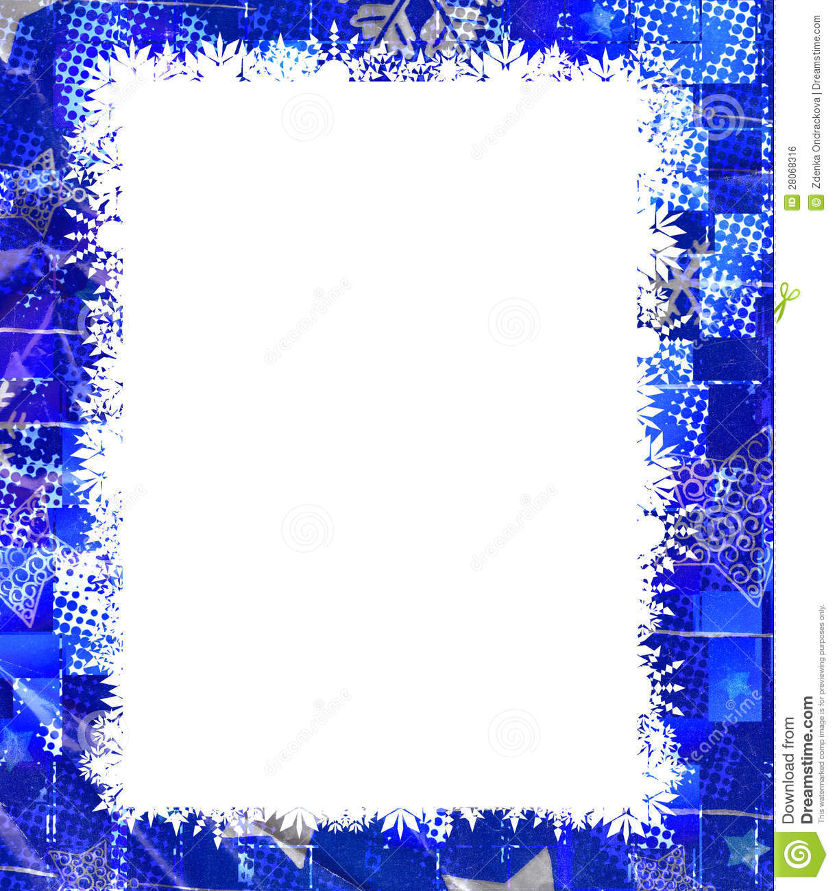 Winter Border Royalty Free Stock Image - Image: 28068316