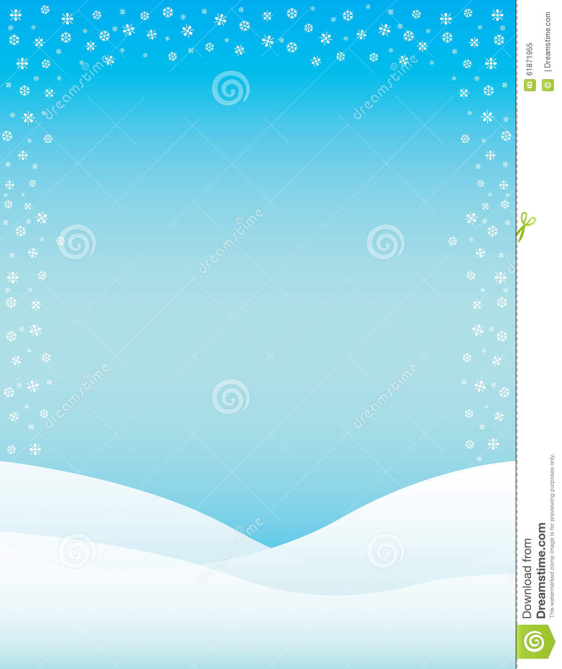 brochure background templates - winter brochure background stock illustration image of
