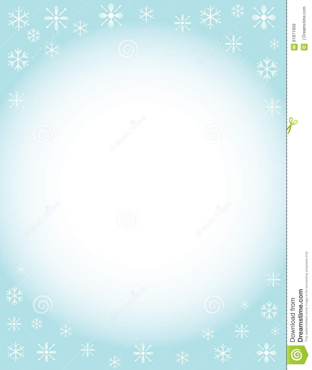 winter brochure background stock illustration image 61871959 winter brochure background