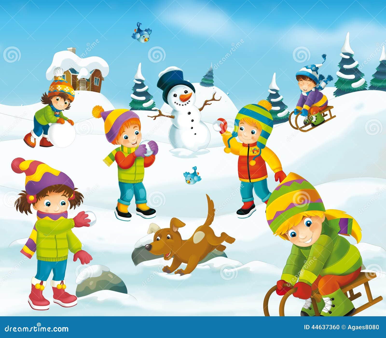 Outside Christmas Games For Kids