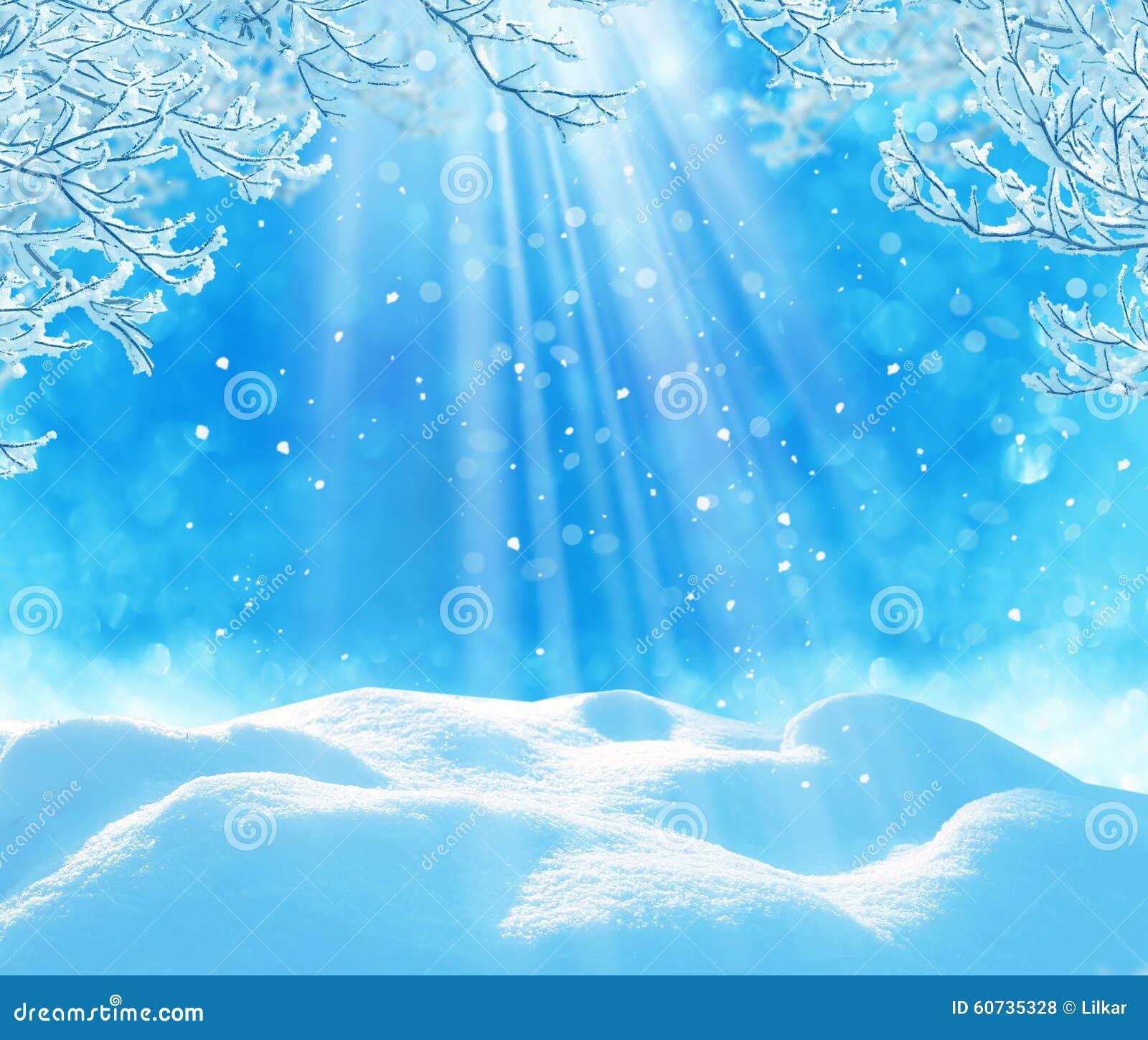 Winter christmas background stock photo image 60735328