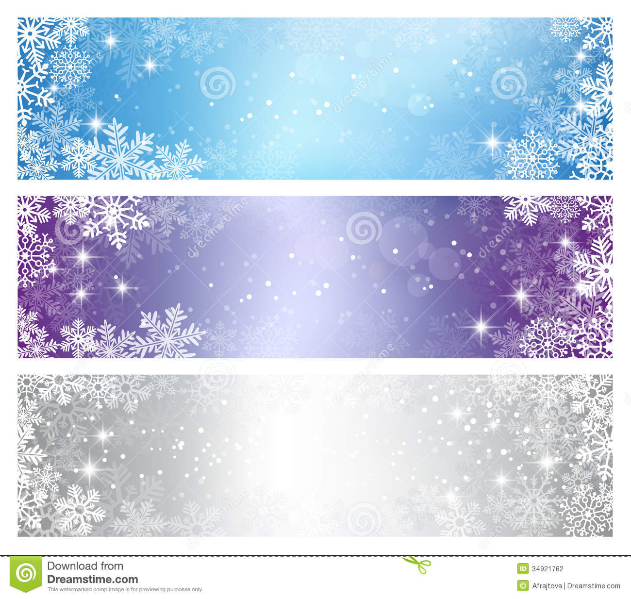 Winter Holiday Banners Cross Platform App Development Banners