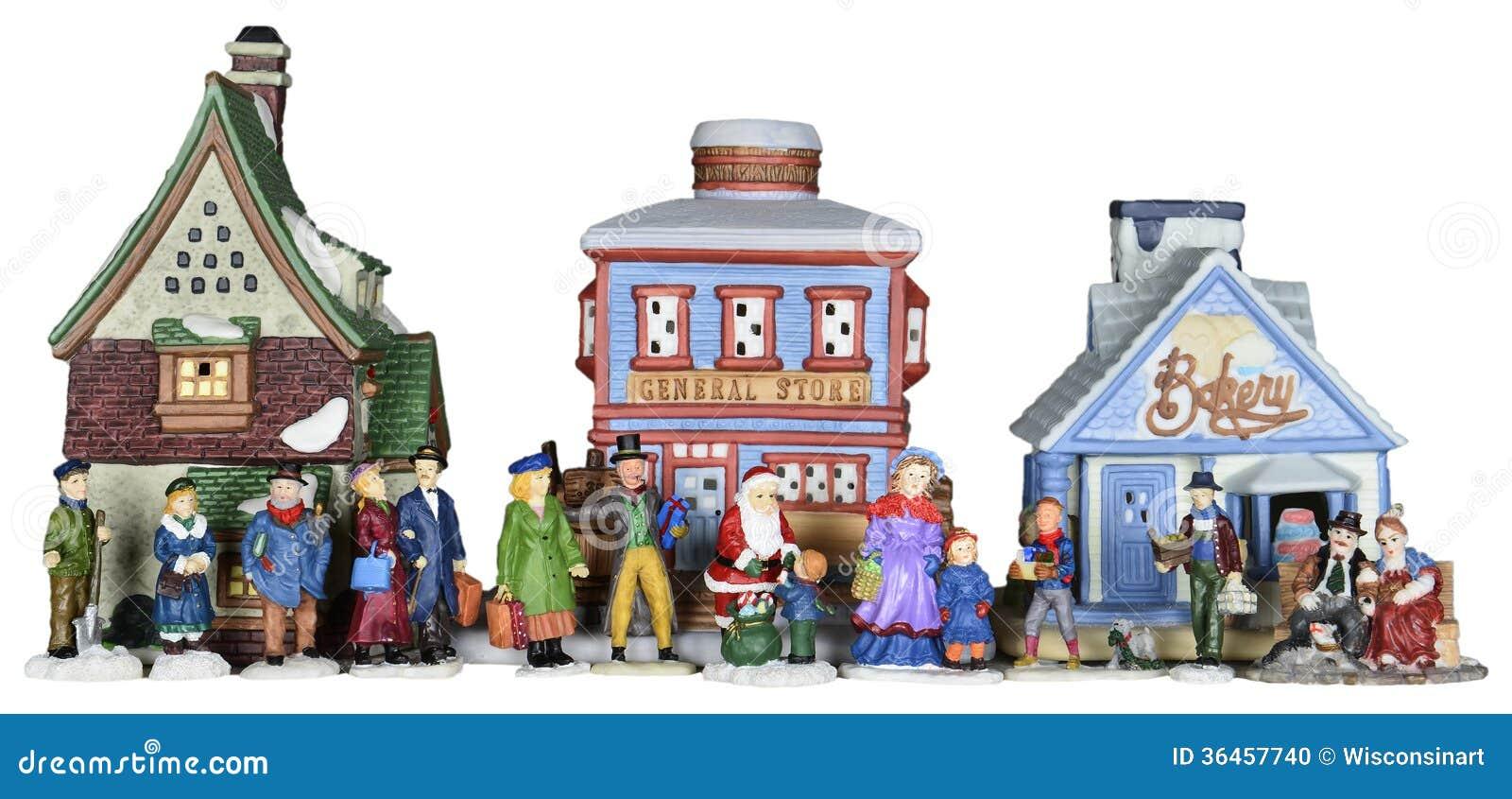 free christmas village clipart - photo #17