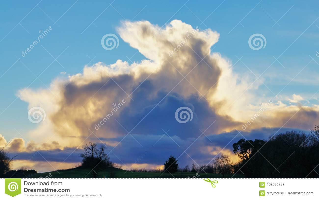 Download An emerging rabbit cloud.. stock photo. Image of pulling - 108050758