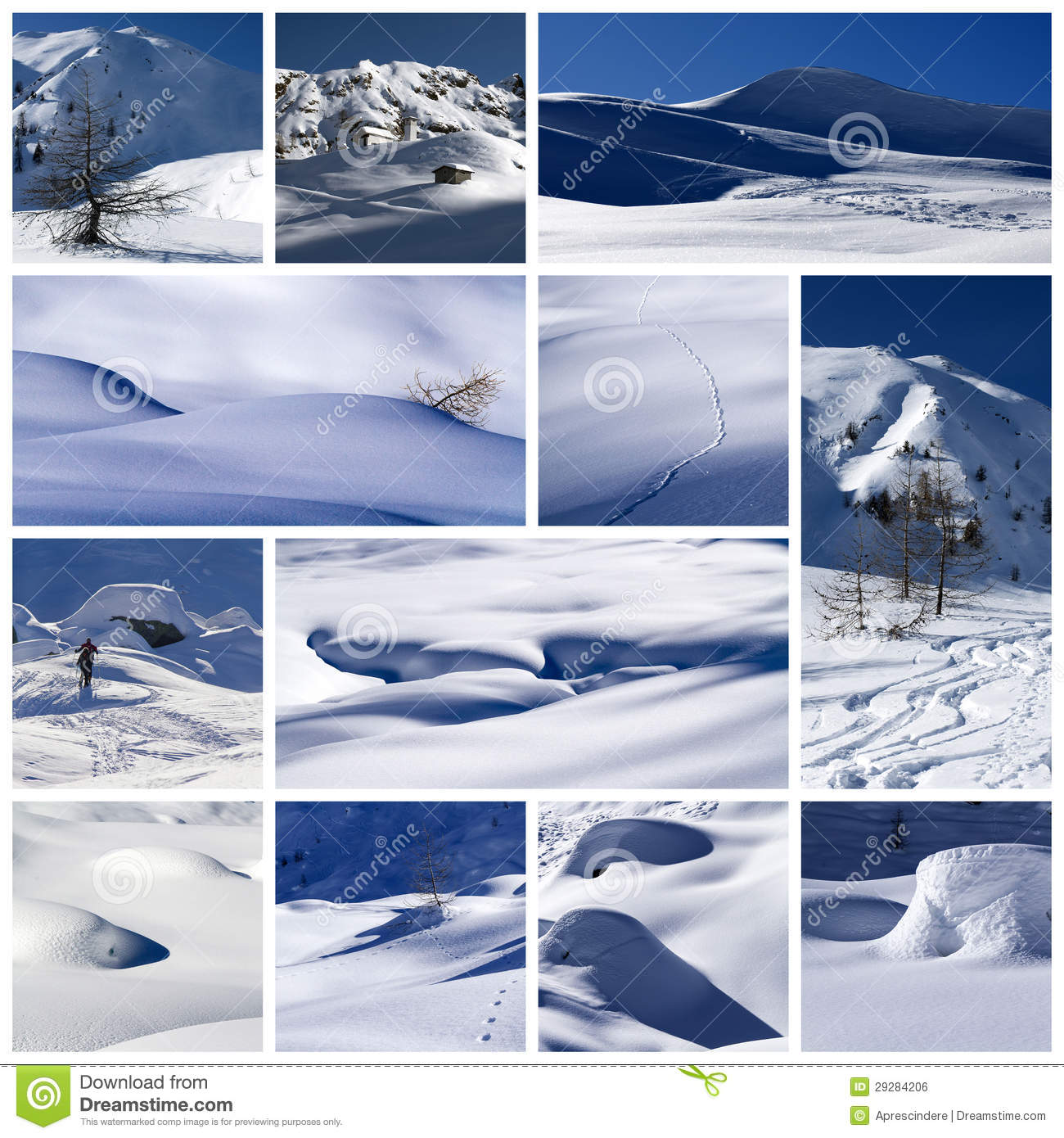 Winter Collage Royalty Free Stock Image Image 29284206