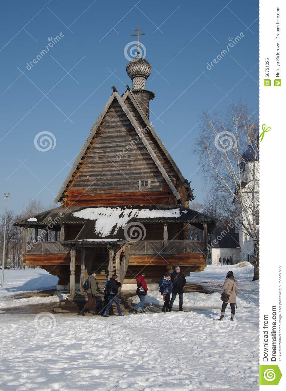 Suzdal Russia  city photo : SUZDAL, RUSSIA February 21, 2015: Winter day in the Russian city ...