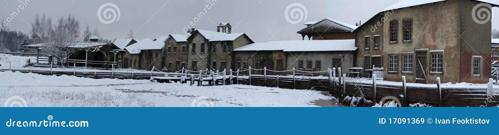 Winter-Europäerstadt