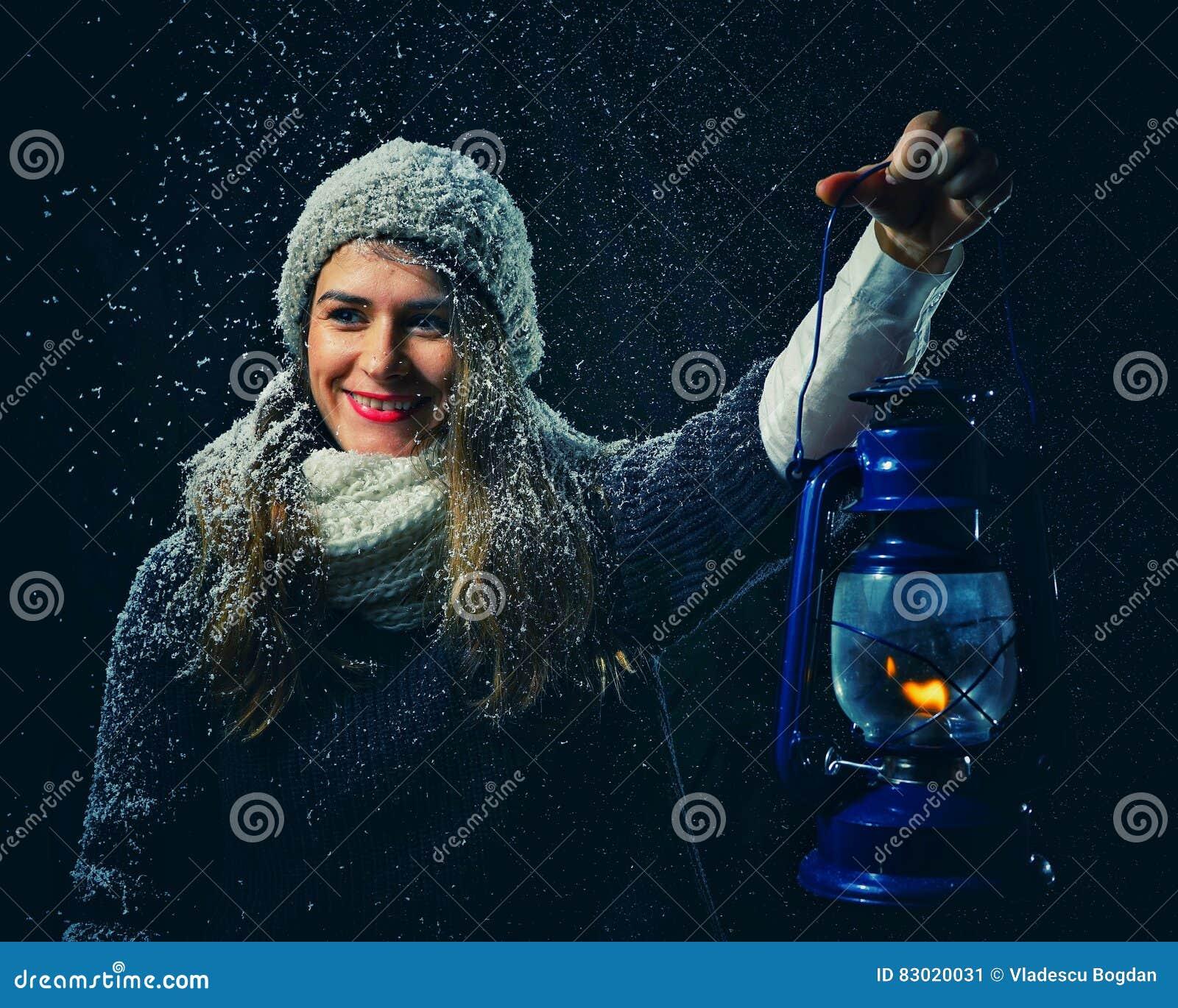 Winter fantasy night