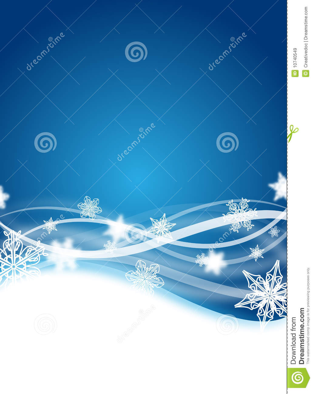 winter flyer royalty free stock images