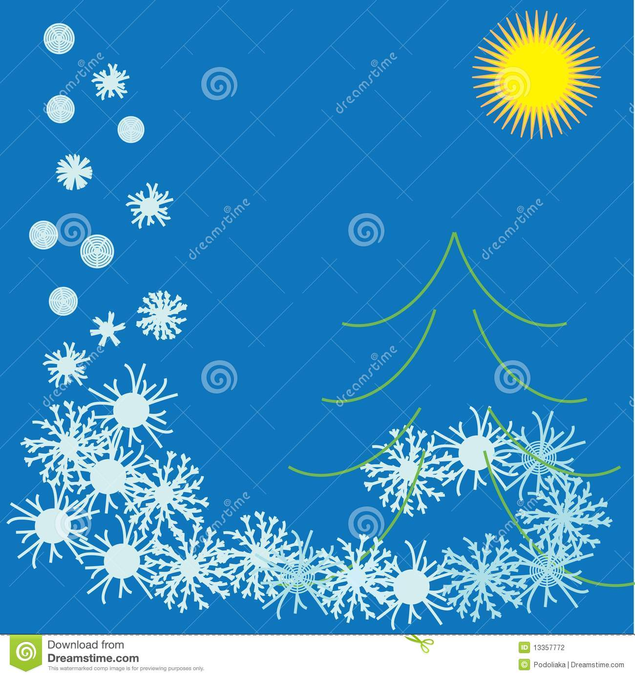winter flyer royalty stock images image 10740549 winter flyer stock photography