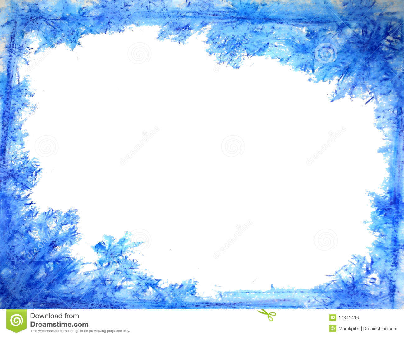 Winter Frame Royalty Free Stock Image - Image: 17341416