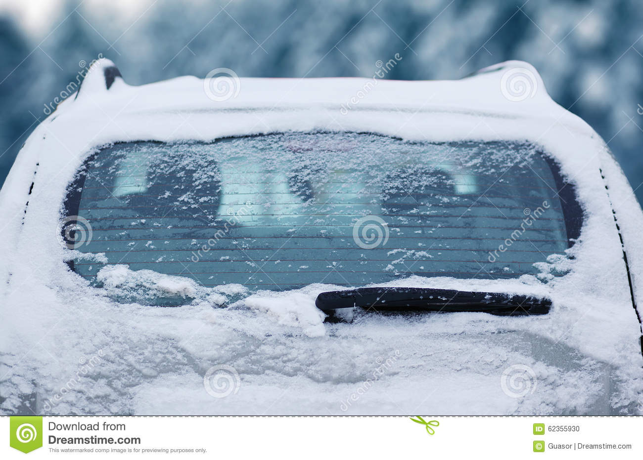 how to clean car windows in winter