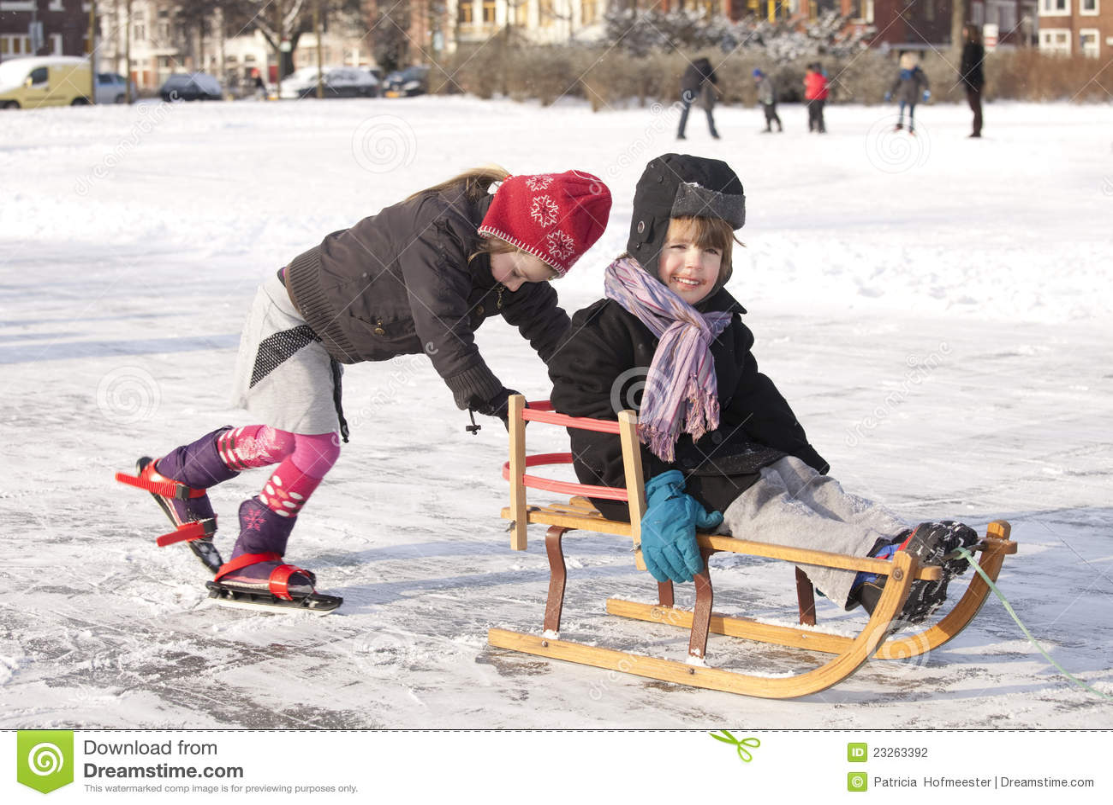 WInter fun on ice