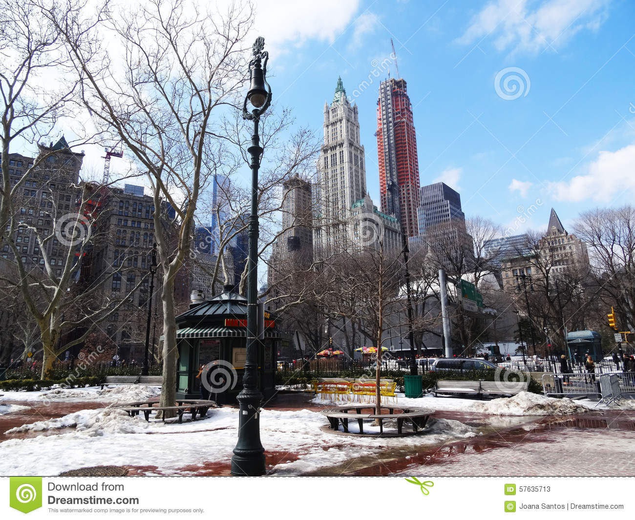 winter garden new york editorial stock photo image 57635713