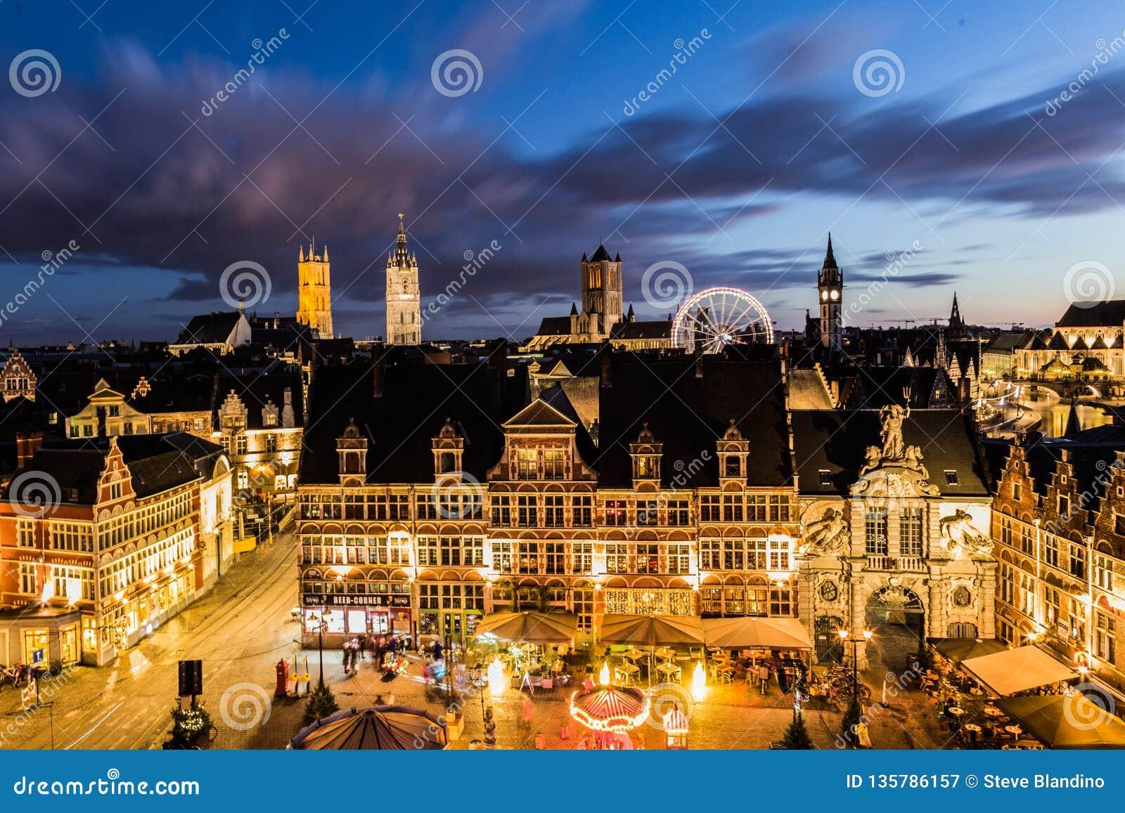 Winter in Ghent
