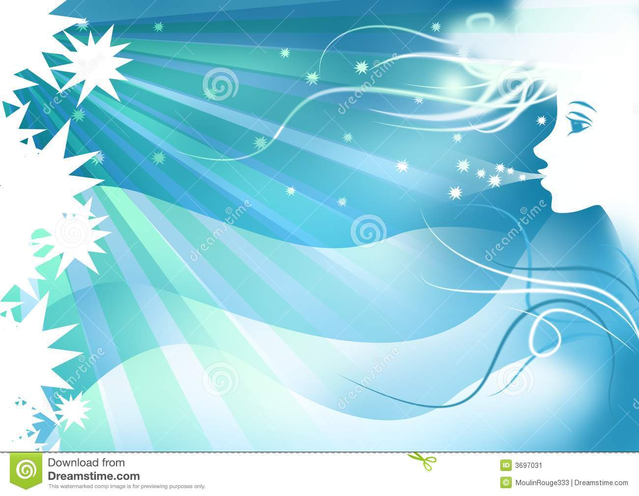 Winter Girl Background For Winter Season Stock Image - Image: 3697031