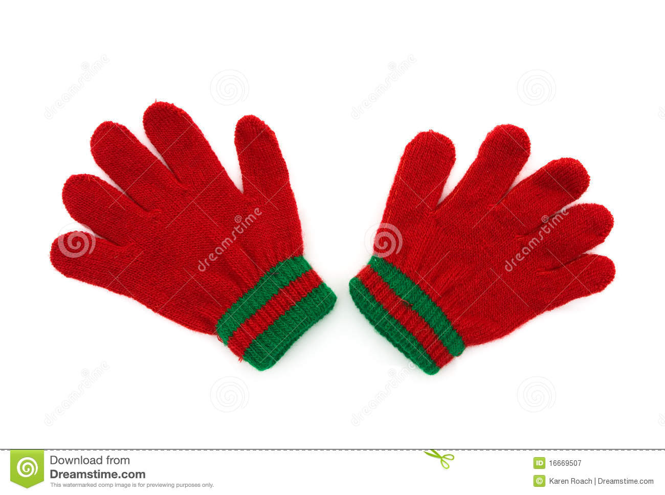 Winter Gloves stock image. Image of overwhite, copy