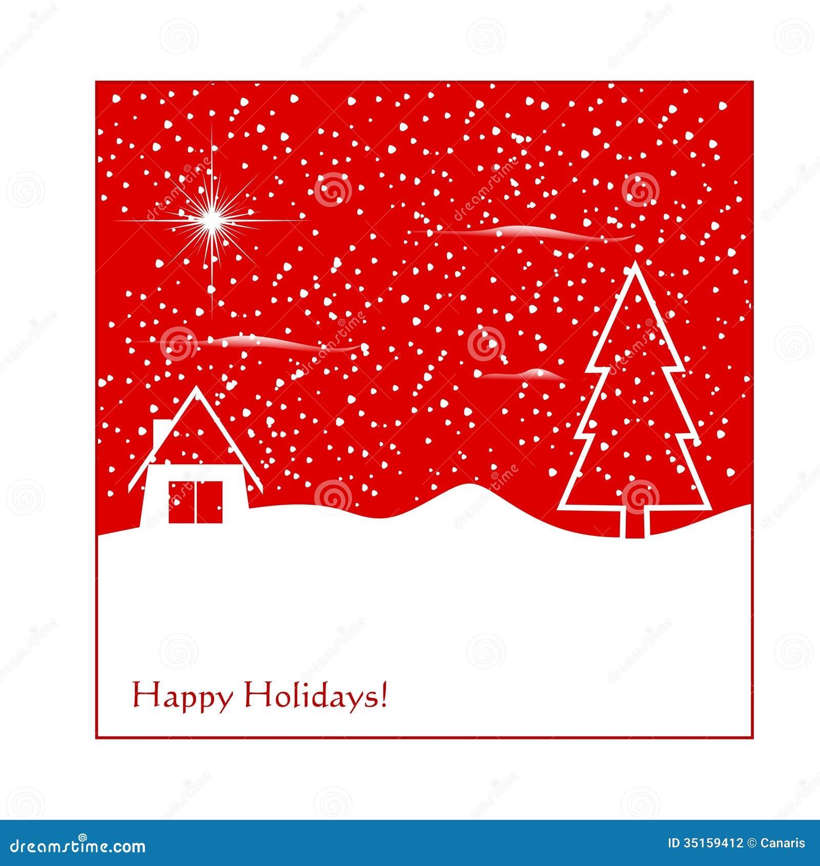 Winter greeting card stock illustration illustration of seasonal winter greeting card m4hsunfo