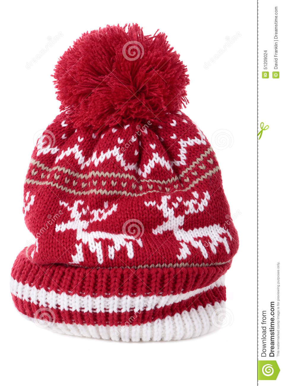 5644f092429 Bobble hat isolated against a white background