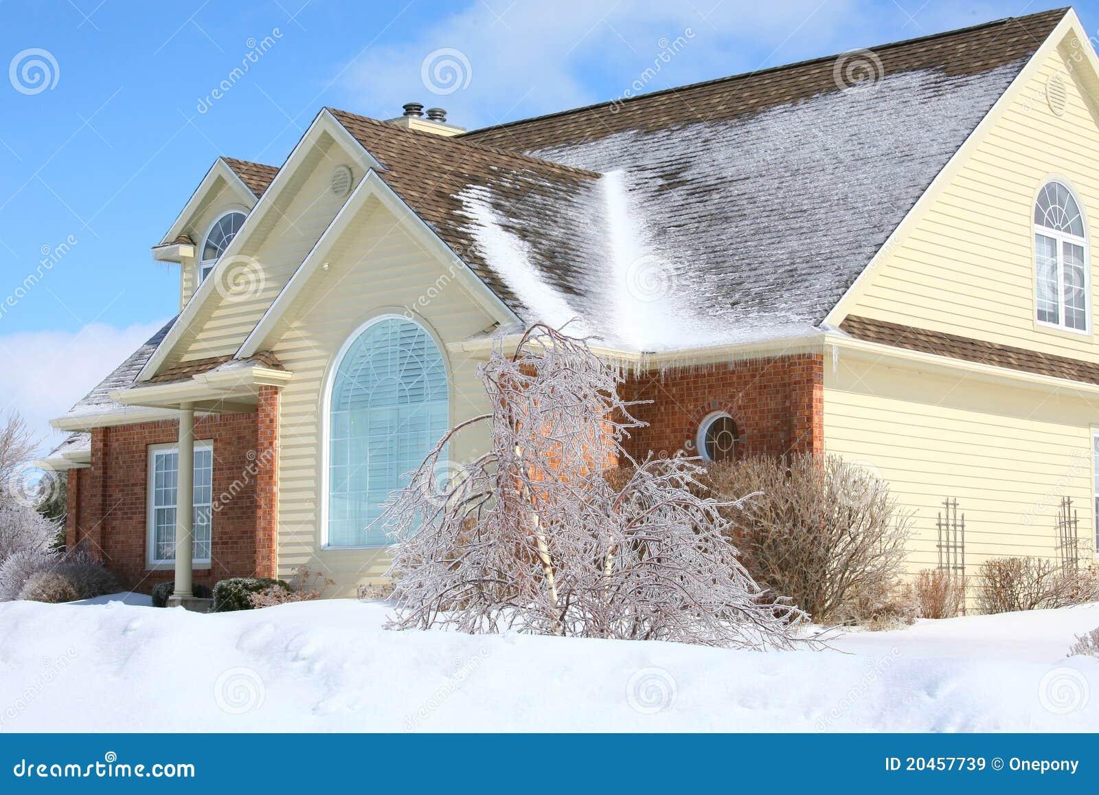 Winter-Haus