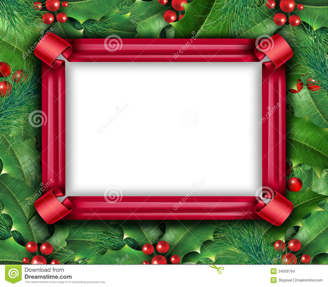 Winter Holiday Frame stock illustration. Illustration of concepts ...