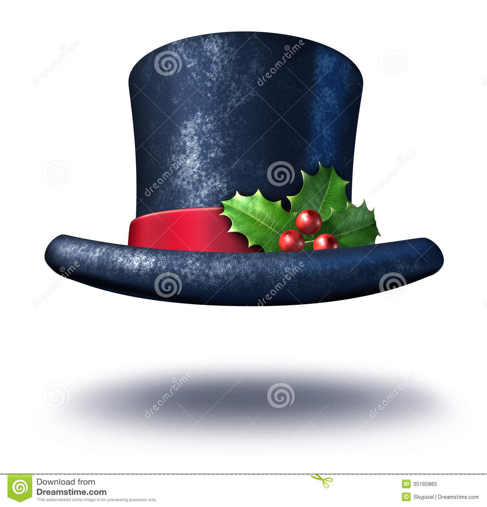 winter holiday hat stock illustration illustration of