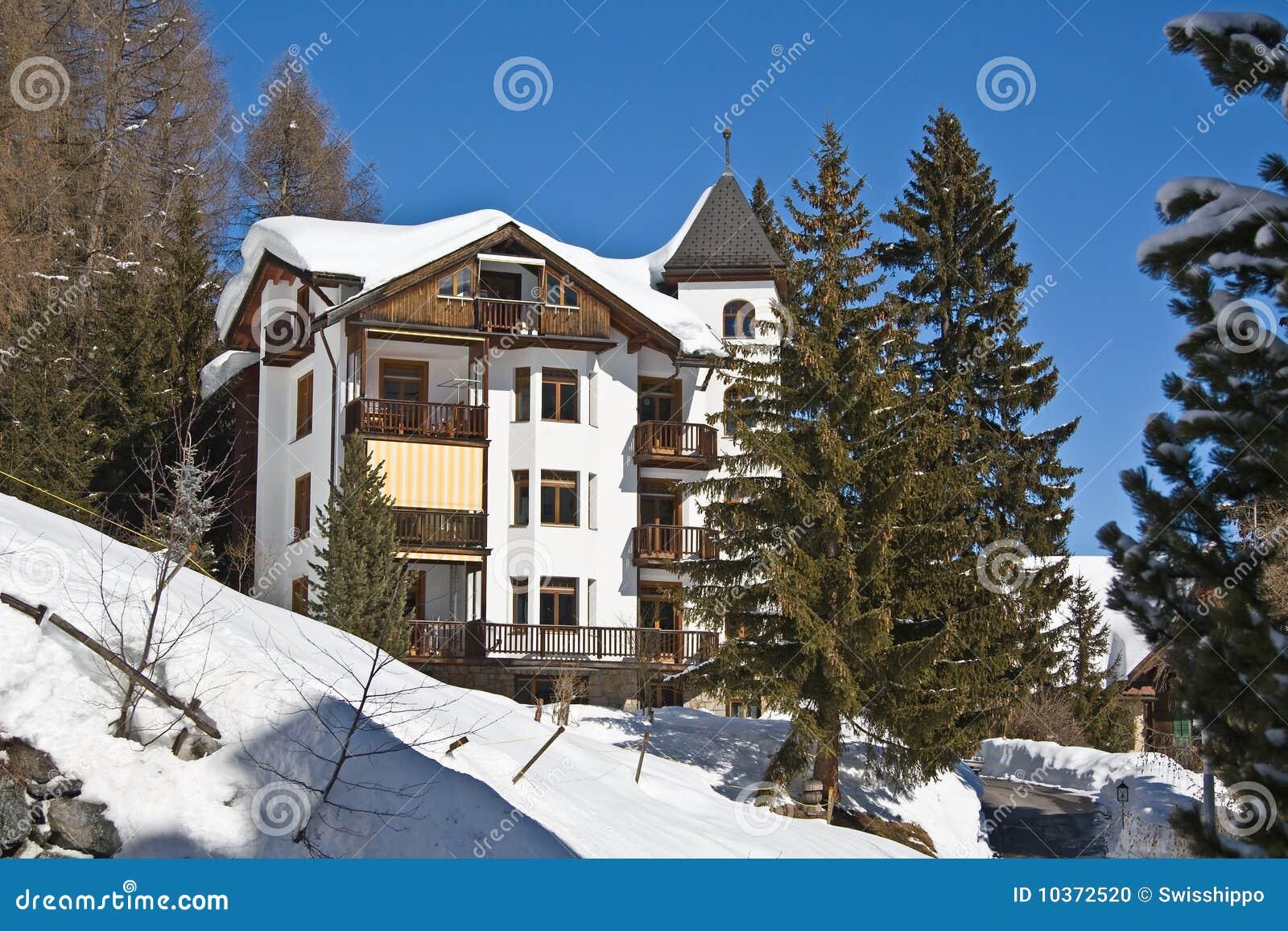 Winter Holiday House Stock Photo Image 10372520