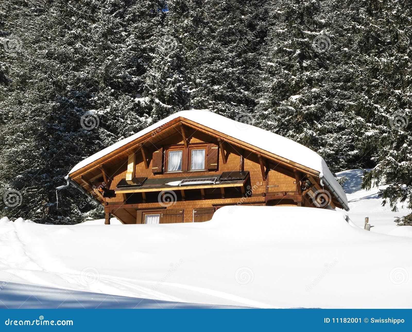 Winter Holiday House Stock Image Image 11182001