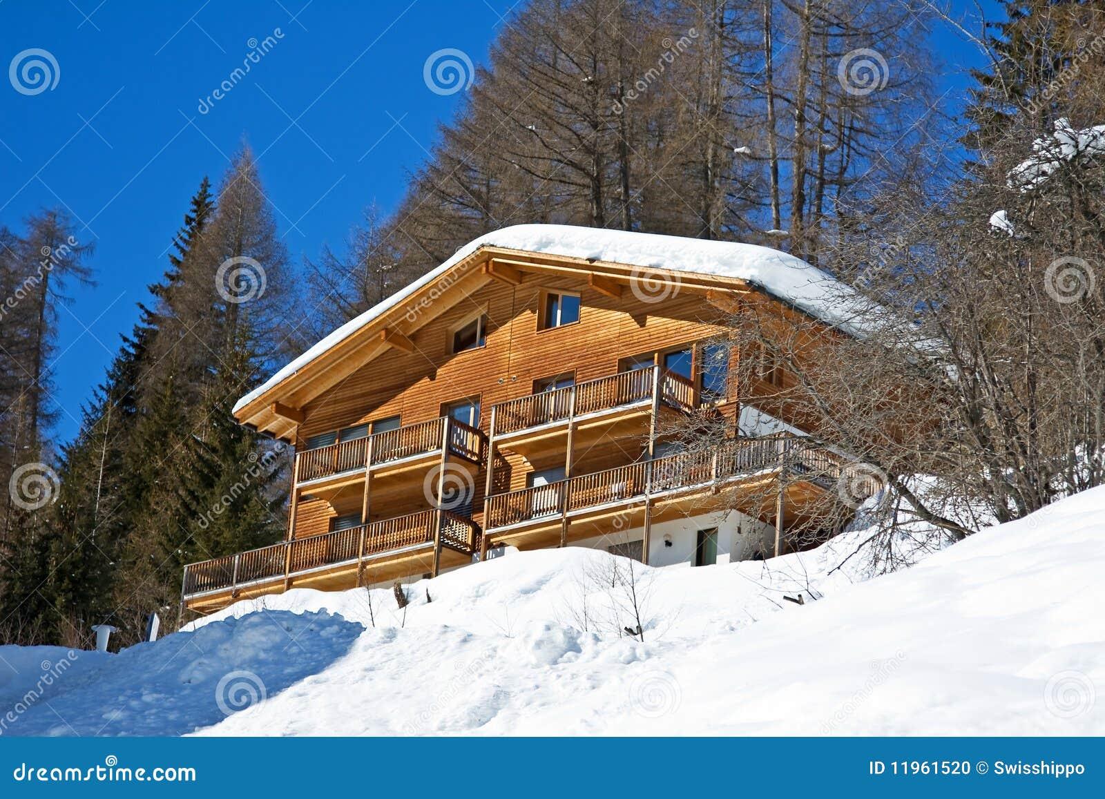 Winter Holiday House Stock Photo Image 11961520