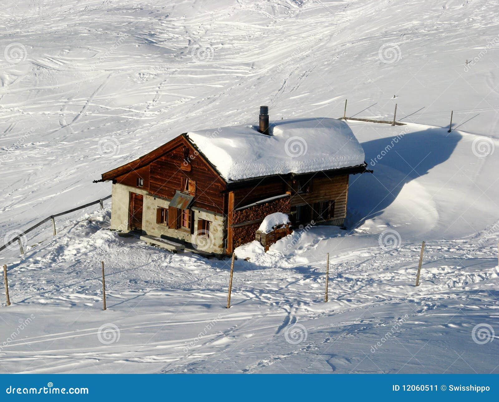 Winter Holiday House Stock Image Image 12060511