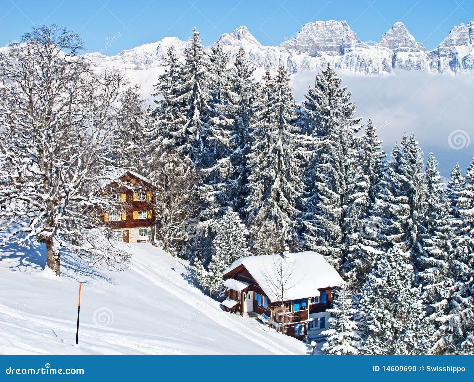 Winter Holiday House Stock Photo Image 14609690