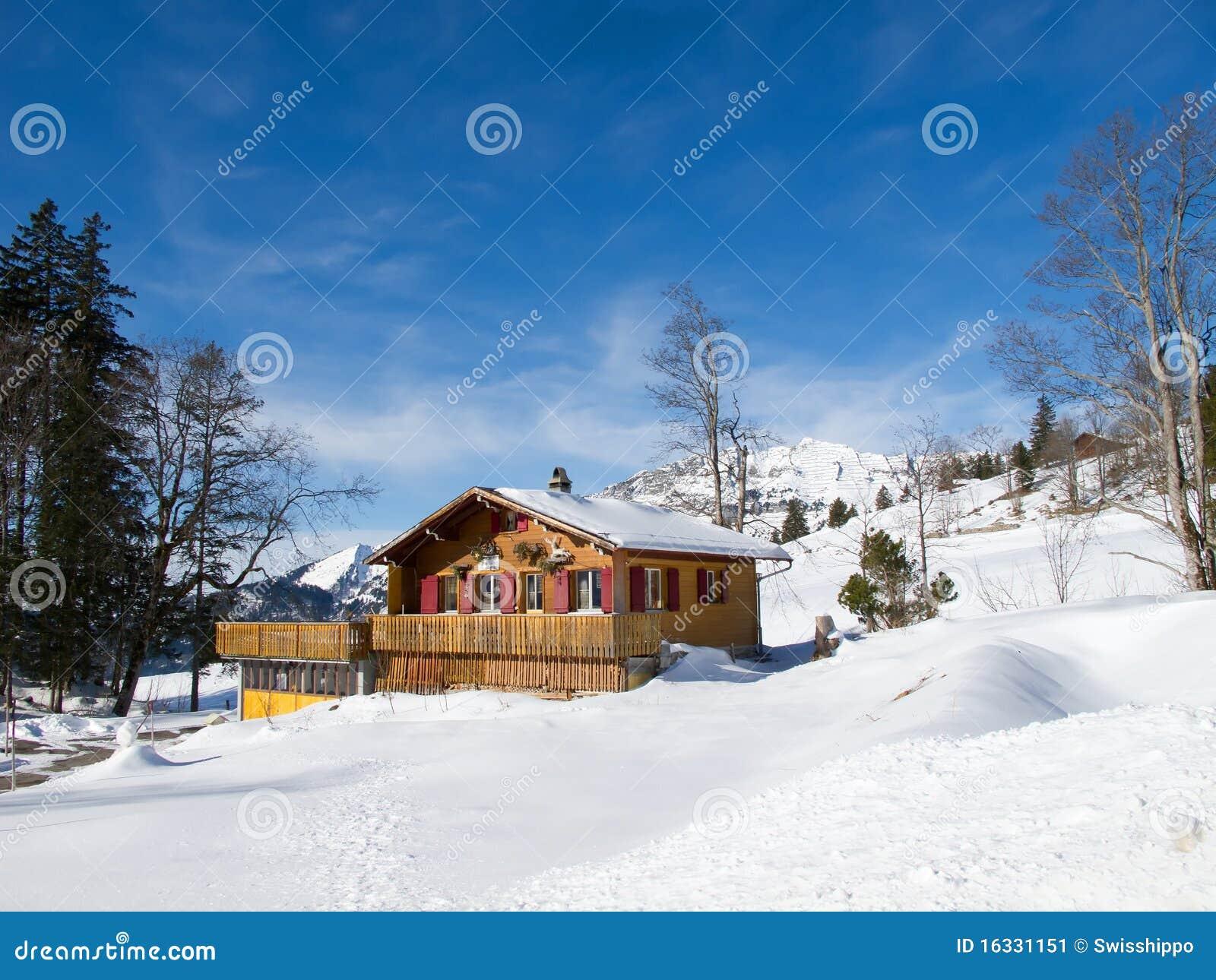 Winter Holiday House Stock Image Image 16331151
