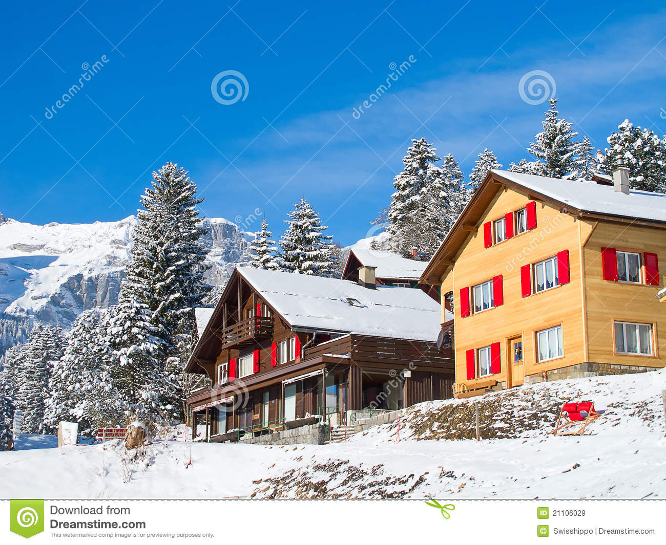 Winter Holiday House Royalty Free Stock Images Image