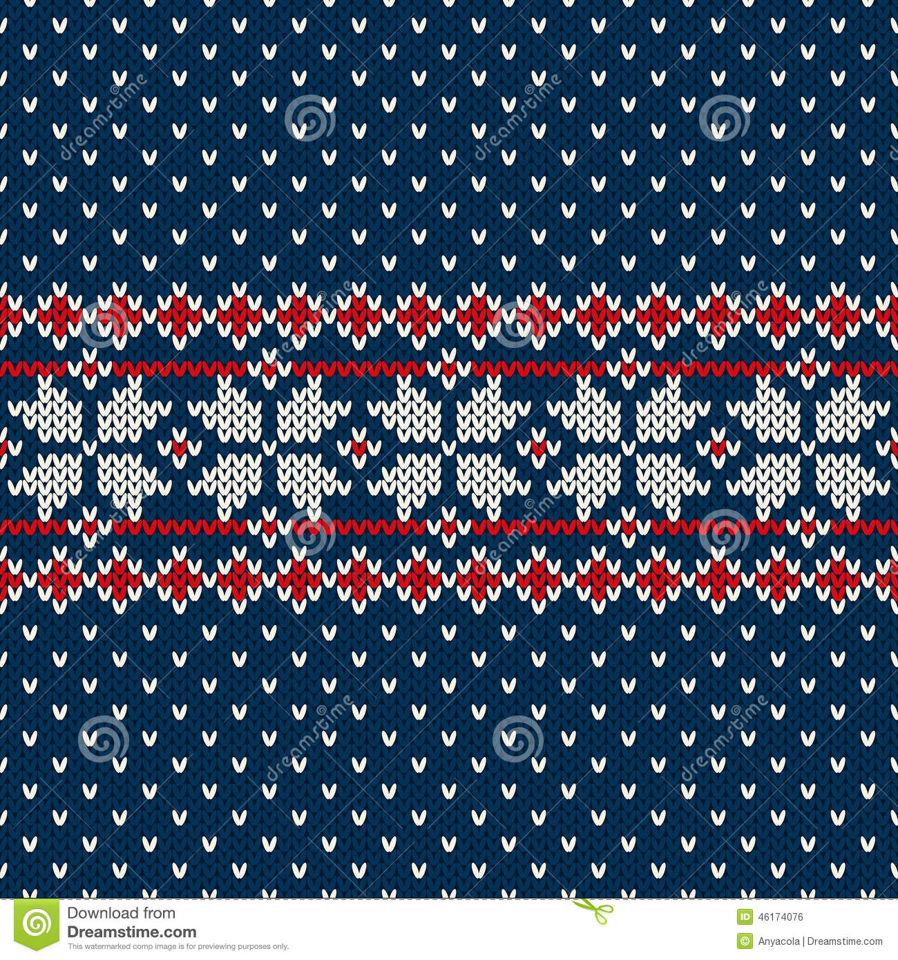 Knitting Pattern Vector Download : Winter Holiday Sweater Design On The Wool Knitted Texture ...