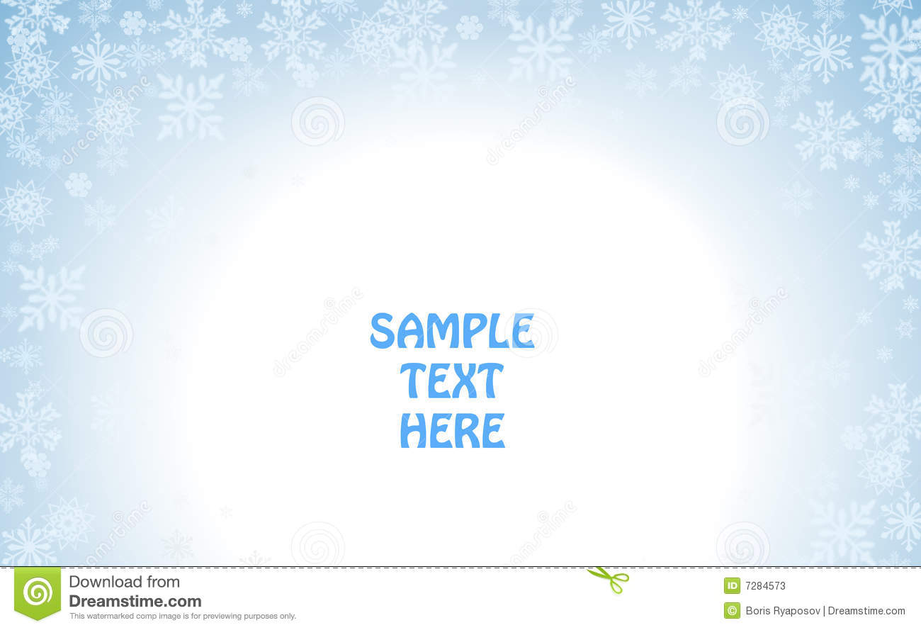 winter holiday template stock photos image 7284573 winter holiday template