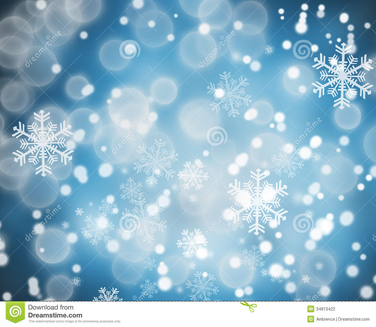 winter theme background