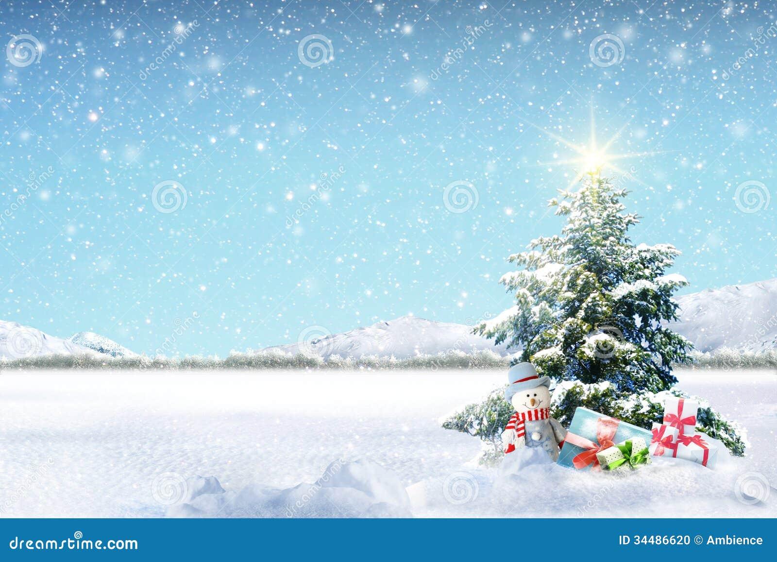 Stock Photo: Winter Holiday Theme background. Image: 34486620