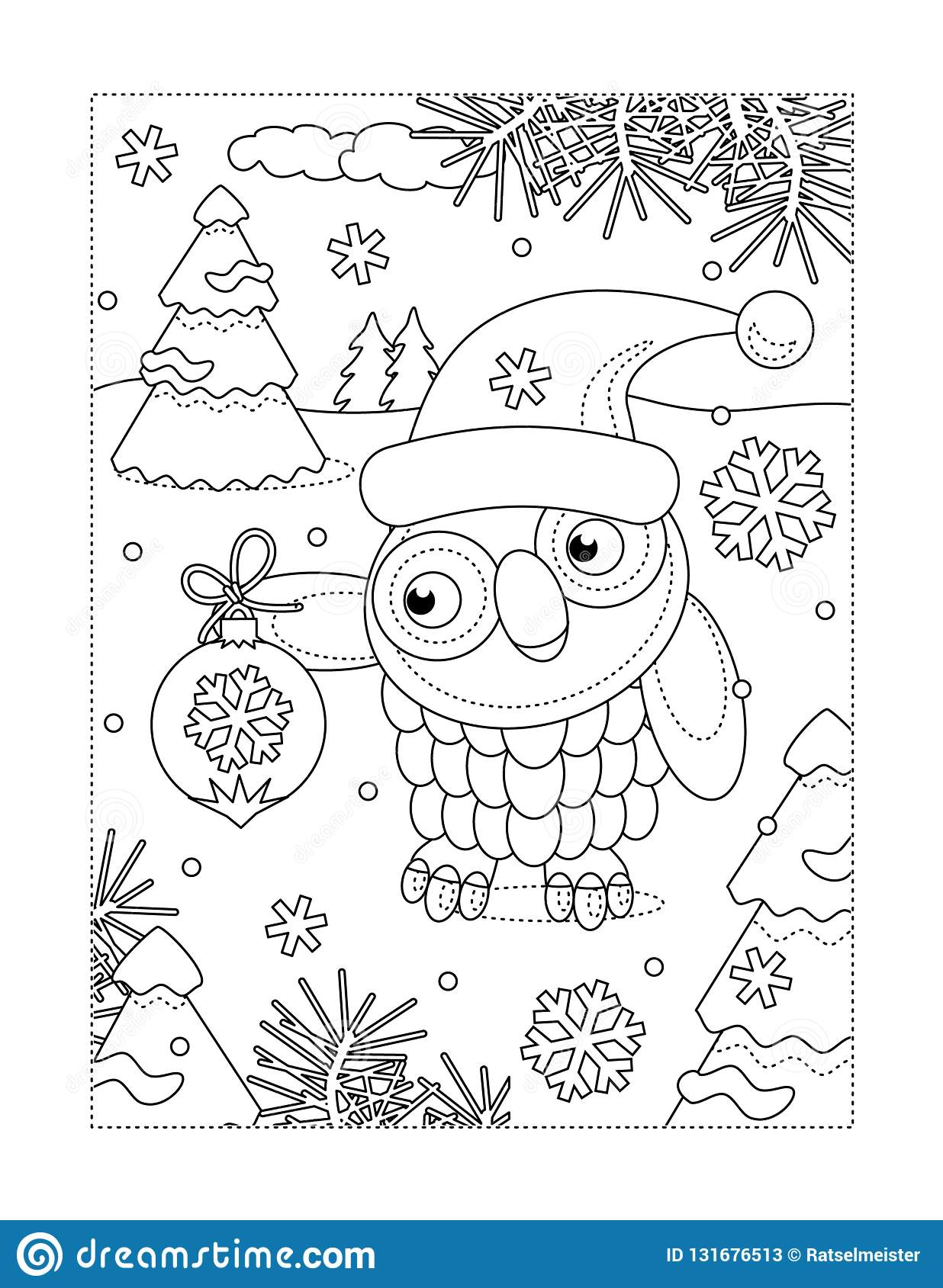 Winter And Christmas Coloring Pages (With images) | Christmas ... | 1689x1236